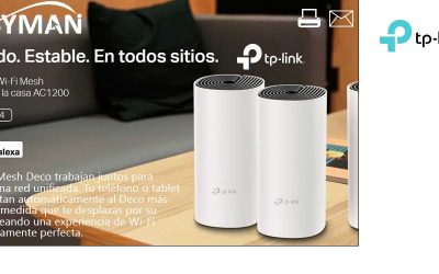tp-link Deco M4, rápido y estable