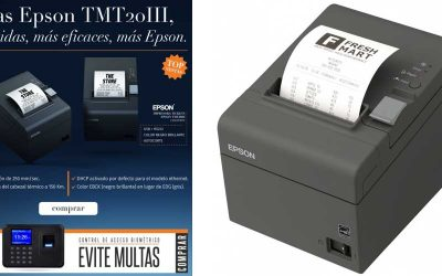 Epson TMT20III impresoras tickets