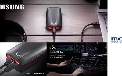 SSD portátil Samsung X5 en MCR