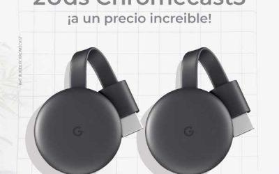 Llévate un Chromecast 3 a precio rebajado