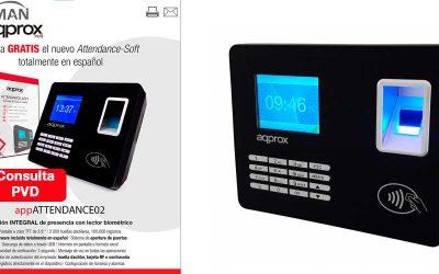 Lector biométrico para control de presencia