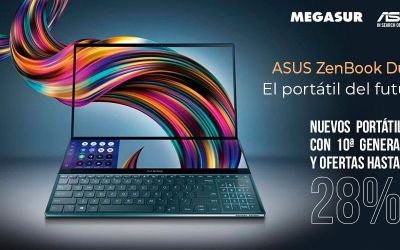Asus ZenBook Duo, el portátil del futuro en Megasur