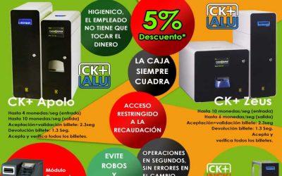CashKeeper, gestión de cobro