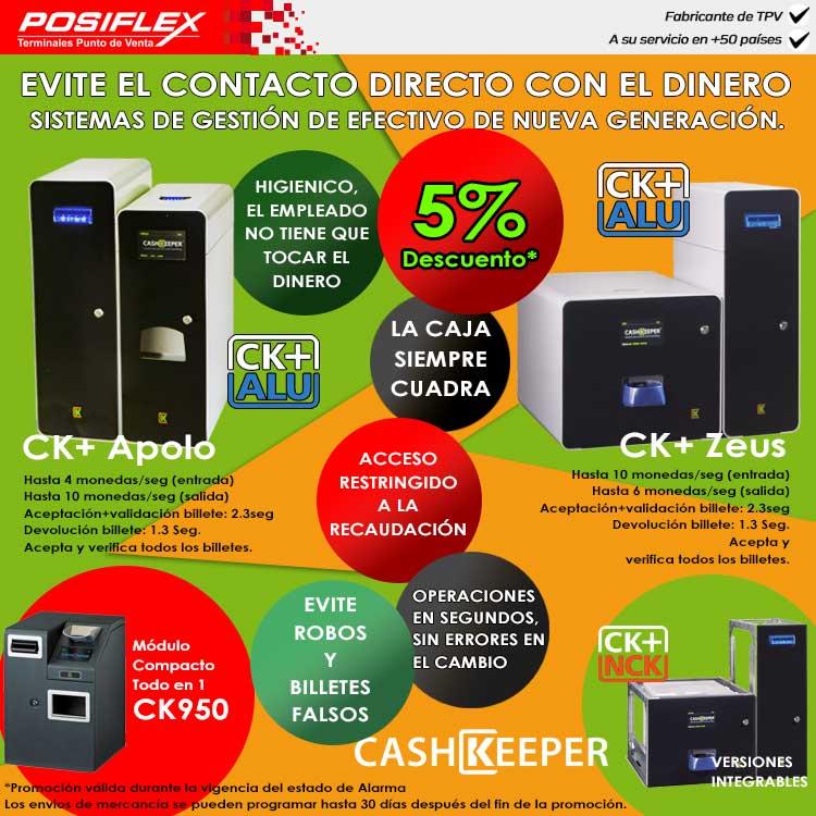gestión de efectivo CashKeeper