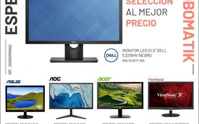 Selección de monitores en Globomatik