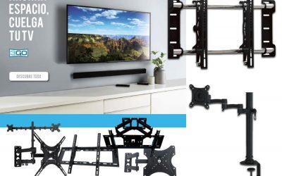 3GO te ahorra espacio para colgar tu TV