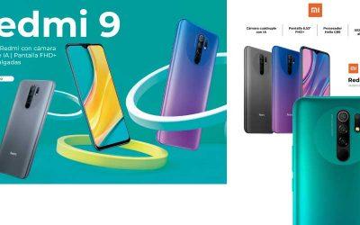 Xiaomi Redmi 9 al mejor precio