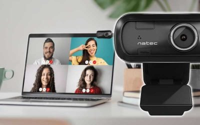 Webcam Natec Lori Full HD 1080P manual focus