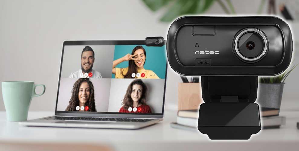descuentazo webcam Natec