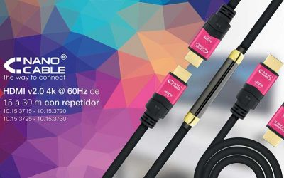 Cables HDMI v.2.0 de hasta 30 metros