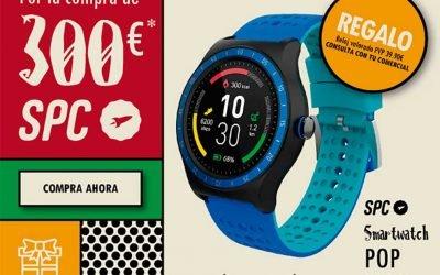 SPC te regala un smartwatch por Navidad