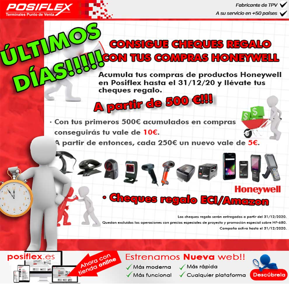 cheques regalo honeywell