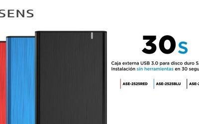 """Carcasas de aluminio sin tornillos para hdd SATA 2,5"""""""